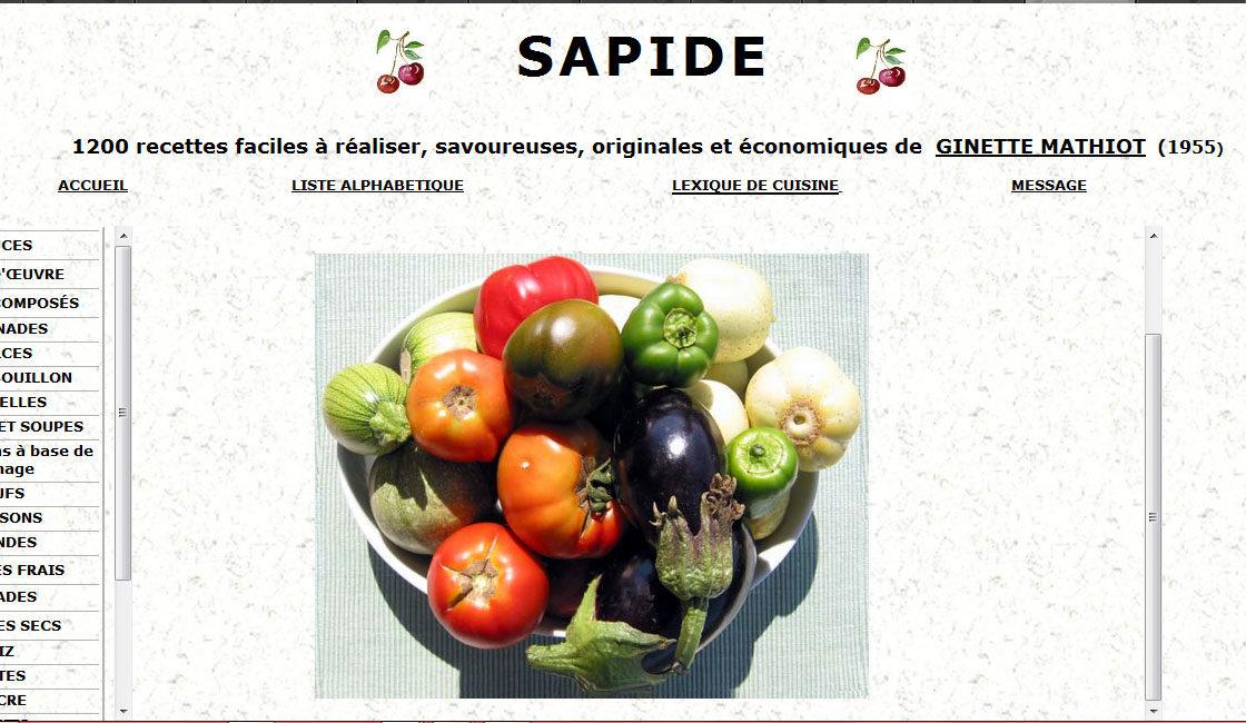 Ginette Mathiot – Je sais cuisiner