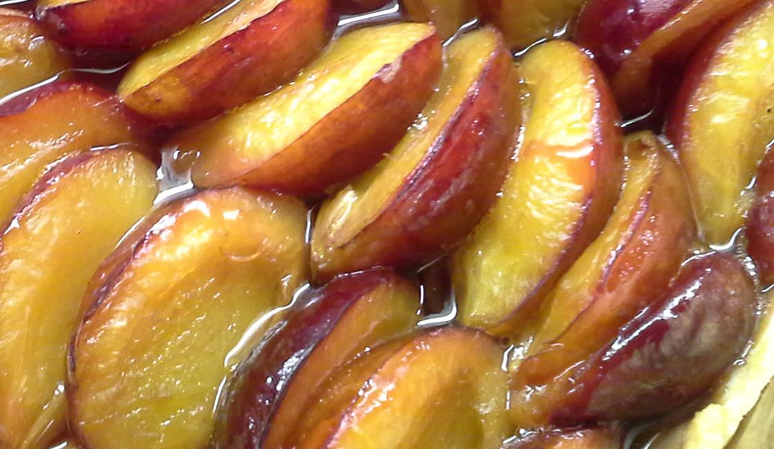 Tarte aux prunes d'ente