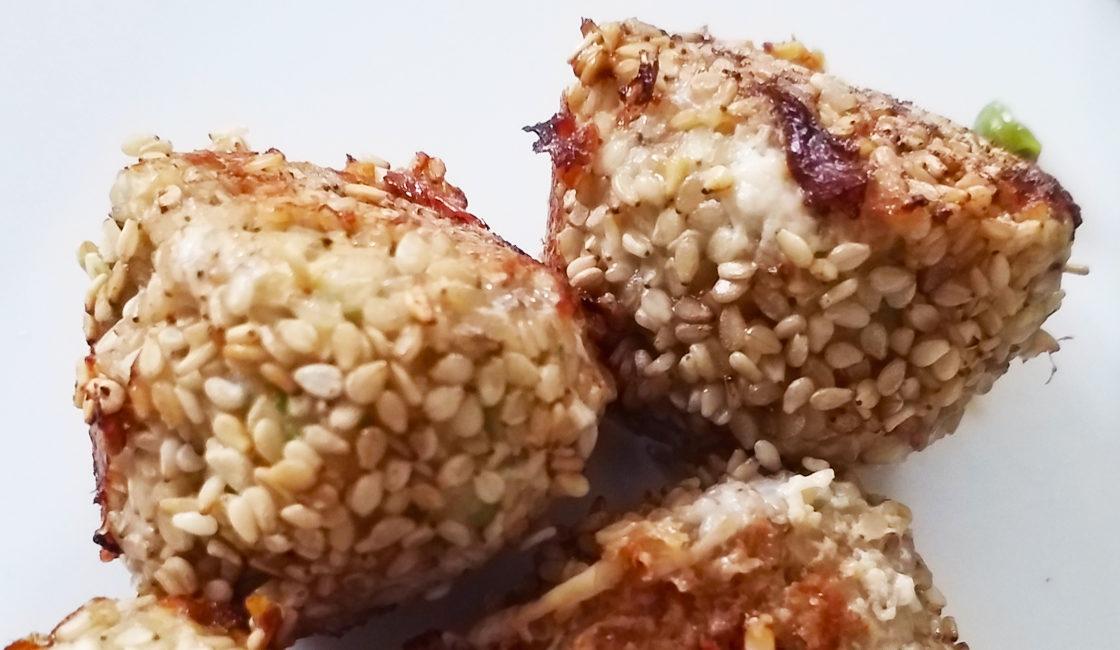 Boulettes de crevettes au sésame