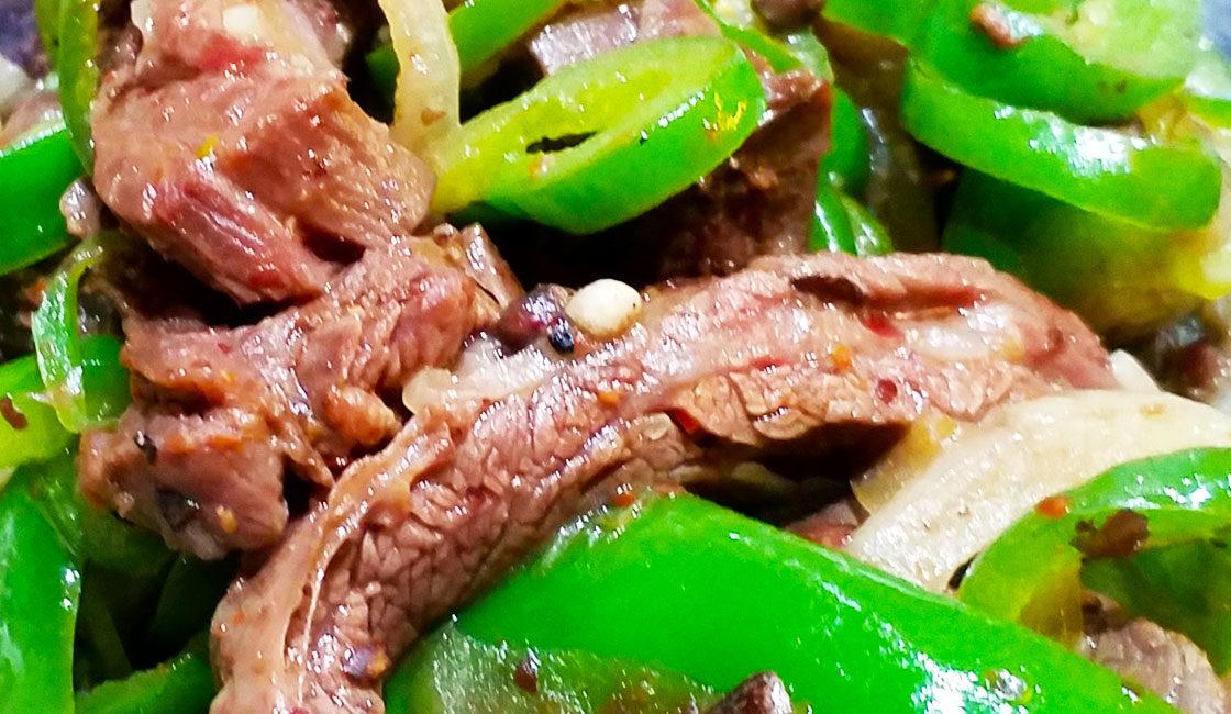 Bœuf au poivre de Sichuan