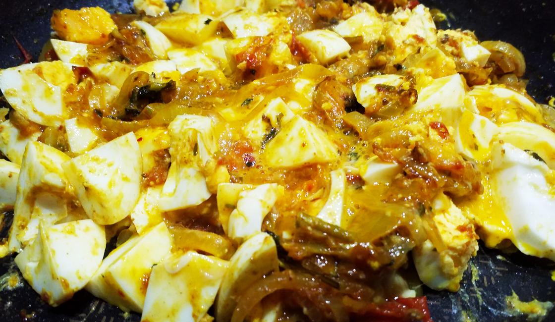 Omelette façon parsi