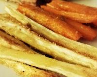 Panais et carotte rôtis