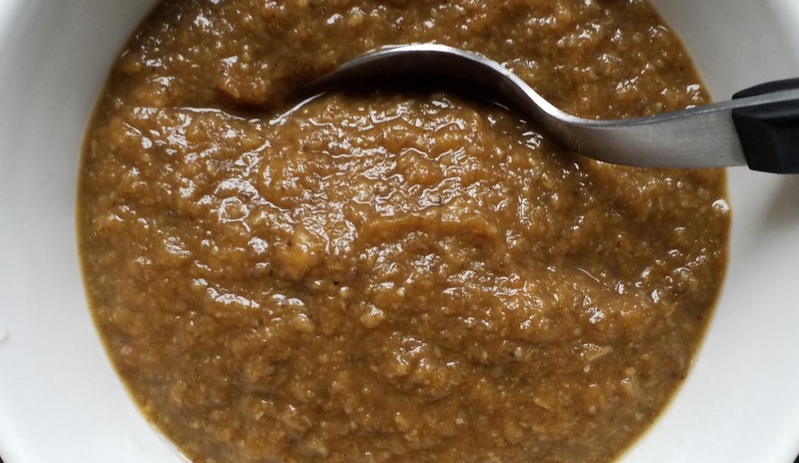Soupe de champignon et butternut