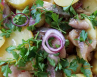 Salade pomme de terre et hareng