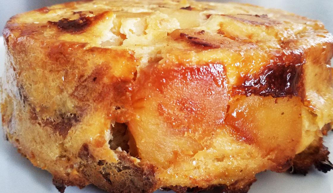 Gâteau au pain dur