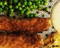Loup façon fish & peas